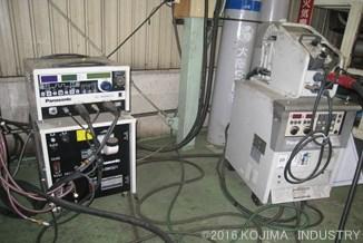 アルゴン溶接機 ・ CO2溶接機